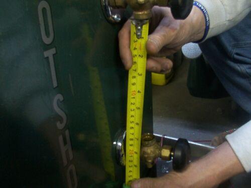 Set Steam Boiler Sight Glasses 2 Gauge Glass Custom cut Gauge Glass,