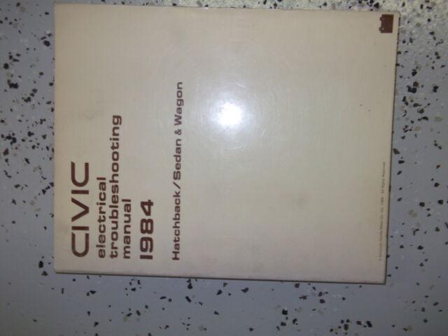1984 Honda Civic Sedan Electrical Troubleshooting Wiring