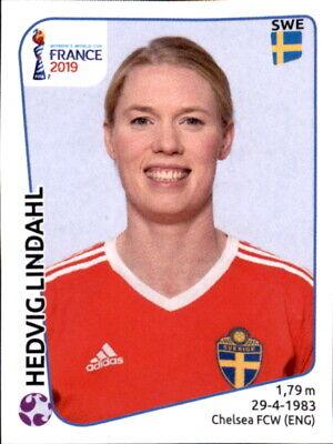 Neueste Kollektion Von Panini Frauen Wm 2019 Sticker 463 - Hedvig Lindahl - Schweden Ein Unverzichtbares SouveräNes Heilmittel FüR Zuhause