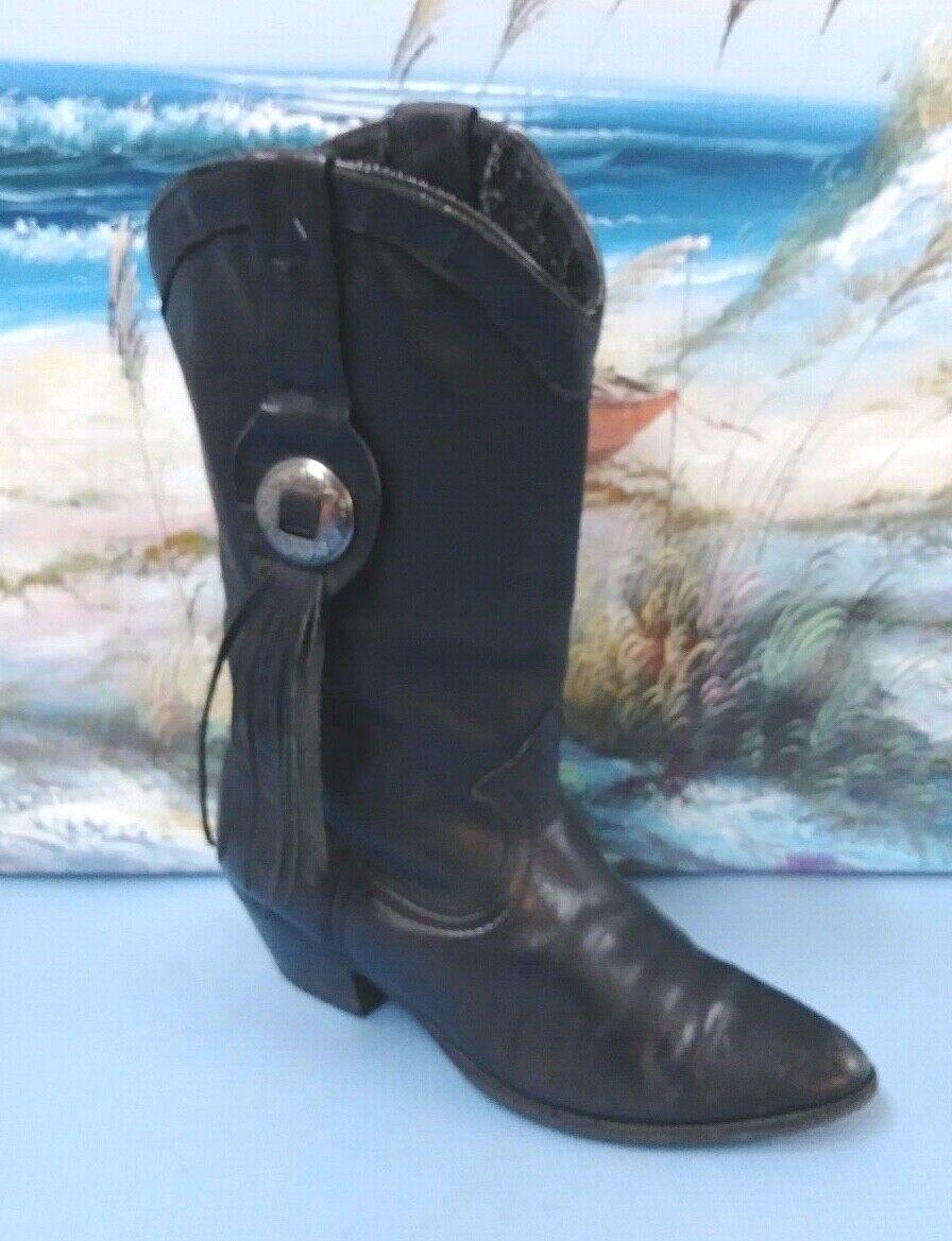 Amazonas para mujer botas Estilo Oeste Negro Tamaño 5 M Estilo 10730