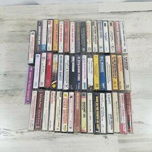 Lot of 50 Cassette tapes Bluegrass Southern Gospel Hymns Yodeling
