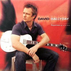David-Hallyday-CD-Single-Repenses-y-Si-Tu-Veux-France-VG-EX