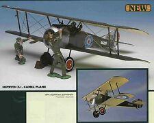 Britains William Britain World War 1 British Sopwith F.1 Camel Plane and Crew