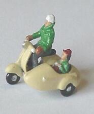 OO VESPA SCOOTER & SIDECAR 00 GAUGE 1/76 4mm METAL KIT