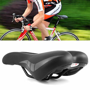 Road-MTB-Mountain-Bike-Bicycle-Saddle-Spring-Seat-Soft-Gel-Padded-Cushion-Cover