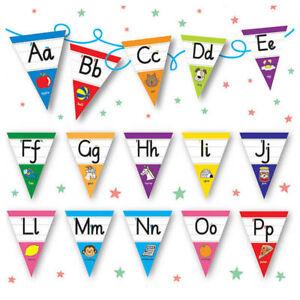 Pedagogs-Laminated-Classroom-Alphabet-Bunting-Decoration-For-Primary-Teaching