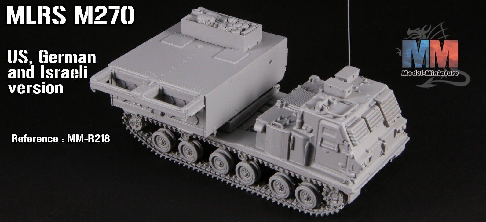 Mrls m-270, deutschen, amerikanischen und israelischen version von modell - 1   72