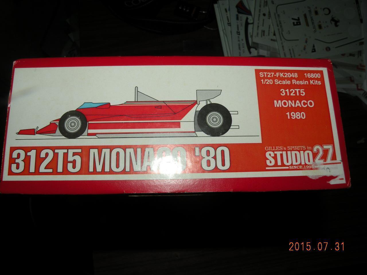 Garantía 100% de ajuste Studio 27 27 27  F1 Ferrari 312T5 Kit De Resina  compras online de deportes