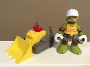 HALF-SHELL-HEROES-FIGURE-Construction-Bulldozer-TMNT-2-75-034