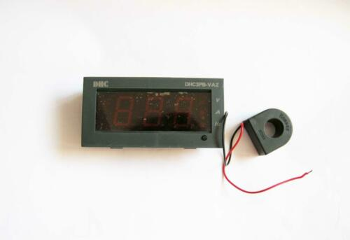 Multifuction Panel Meter 3 In1Red LED Digital 600V 100A 100HZ Amp Volt Frequency
