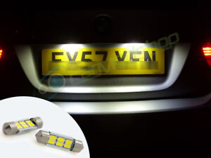LED-Rear-Number-Plate-Bulbs-Lights-For-VW-Lt-Transporter-T4-Van-97-02
