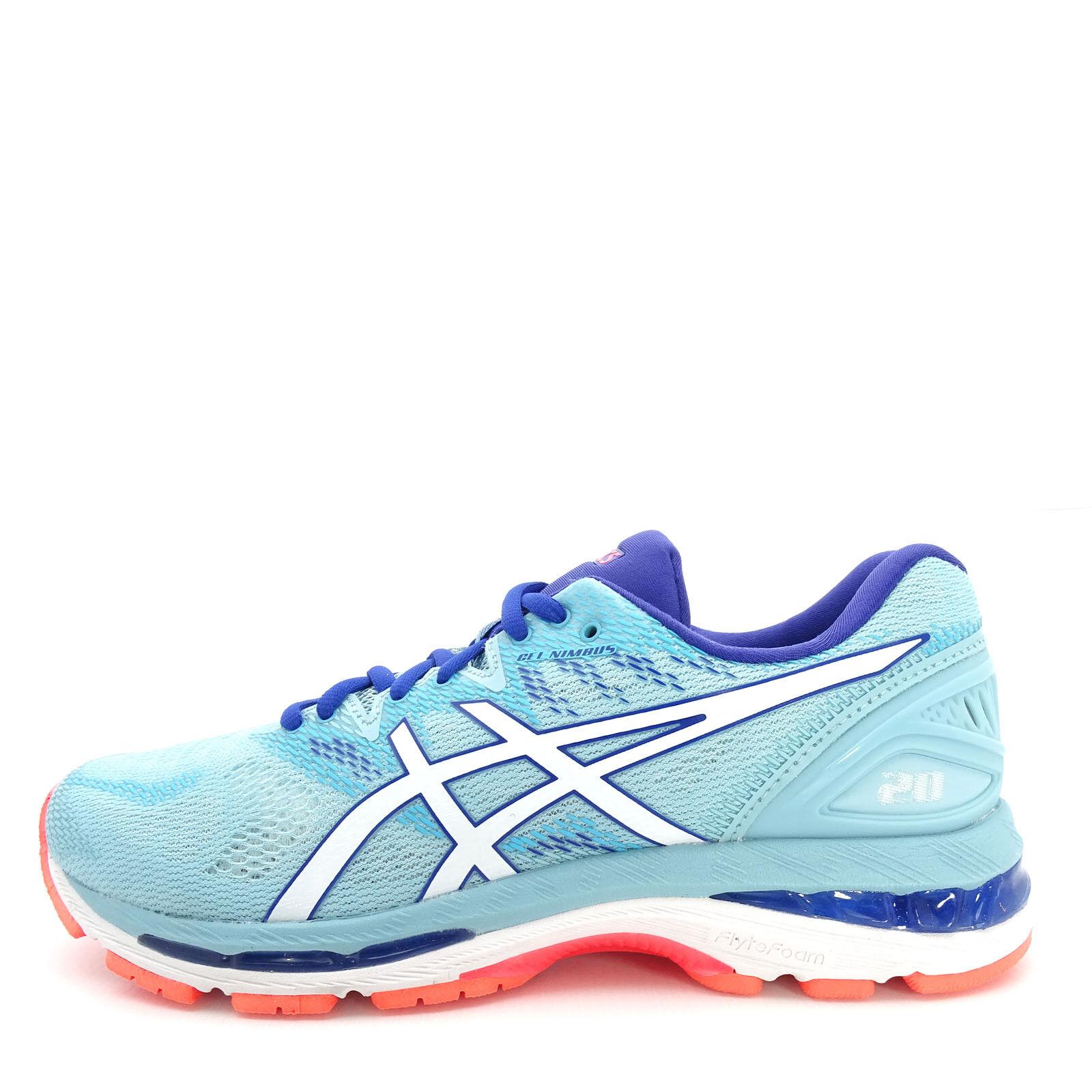 Asics GEL-Nimbus 20 [T850N-1401] Women Running Shoes Porcelain Blue/White