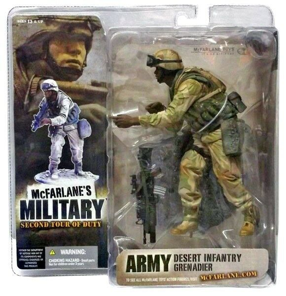 2nd Tour of Duty Army Desert Infantry Grenadier Action Figure [Random Ethnicity]