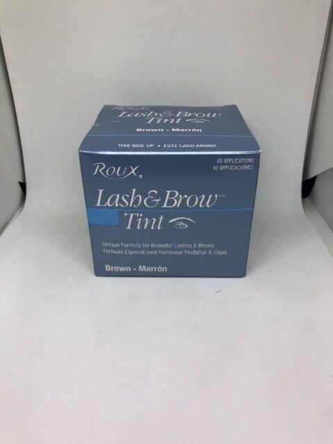 Roux Lash Brow Tint Brown 40 Application 075724210028 Ebay