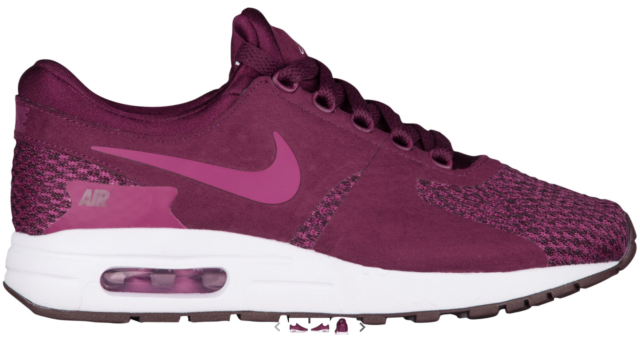 f4cb2488953 NEW Girl s Nike Air Max Zero SE Shoes Size  6Y Color  Burgundy (Bordeaux