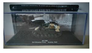 COMBAT TANK TANK TANK CARRO ARMATO SU-76M 3rdRANIAN FRONT AUSTRIA 1945 4322a3