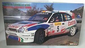 HASEGAWA-1-24-TOYOTA-COROLLA-WRC-MONTEC-039-98-25024-ART-CR-24