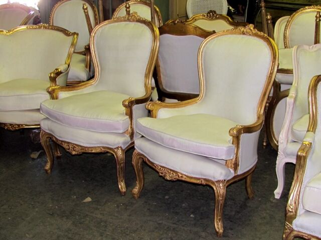You Can Never Have Too Many French Chairs Collection On