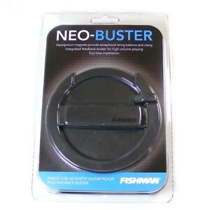 Fishman NEO-Buster Acoustic Soundhole Pickup & F**dback Buster PRO-NEO-FB2 (D)