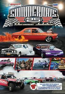 Official-Street-Machine-SUMMERNATS-25-DVD-Chrome-Jubilee-V8-039-s-Ford-Holden
