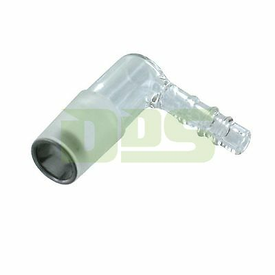Arizer Extreme Q Vape & V-Tower Vaporizer OEM Glass Elbow Adapter Piece
