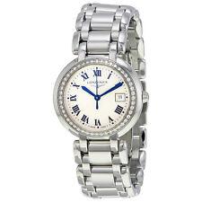 Longines Prima Luna Silver Dial Diamond Ladies Watch L8.112.0.71.6