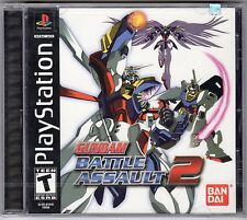 Gundam Battle Assault 2 (Sony PlayStation 1, 2002)