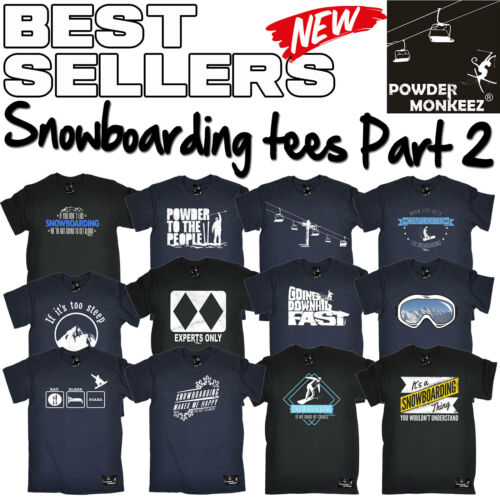 Men/'s Snowboarding Apres T Shirts The perfect funny novelty Gift T-Shirt 2