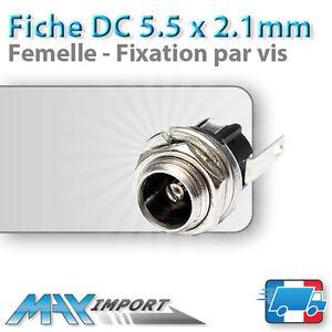 Connecteur-alimentation-DC-5-5x2-1mm-Femelle-Lots-multiples-prix-degressif