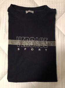5e5dd47d VERSACE SPORT Vintage Tshirt Tee Shirt Size 58 Nice VERY RARE! | eBay