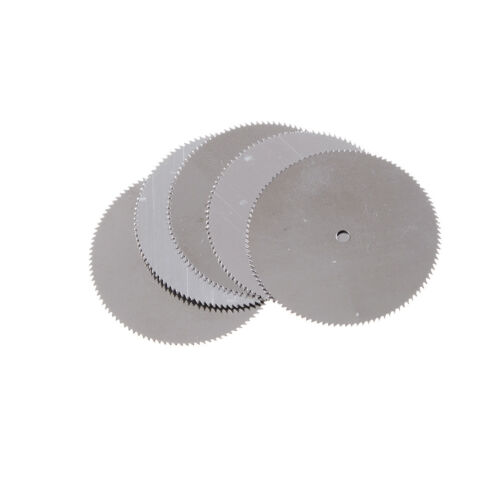 5Pcs 32mm Stainless Steel Saw Slice Metal Cutting Disc Rotary Tool HICA