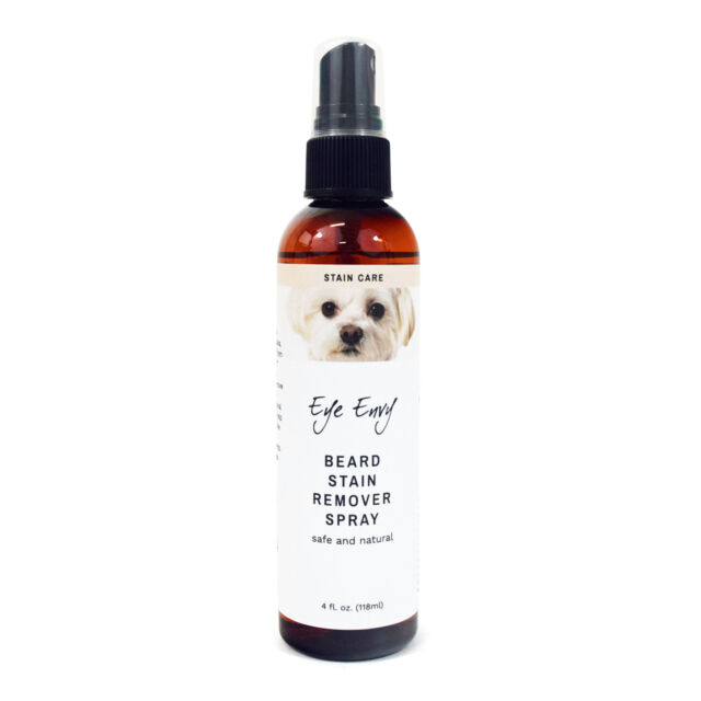 Eye Envy Beard Stain Remover All Natural Pet Hair Facial Cleanser Dogs Cats 4oz