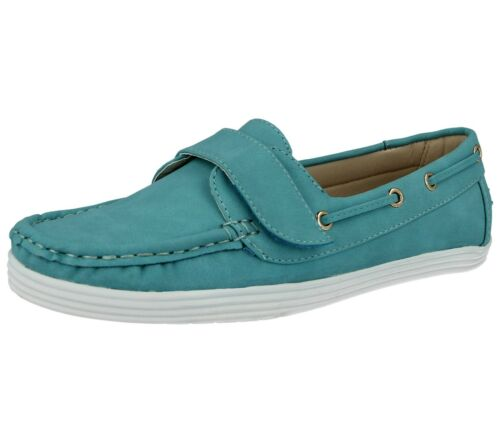 Ladies Cushion Walk Boat Deck Faux Leather Casual Shoes Size-Maria