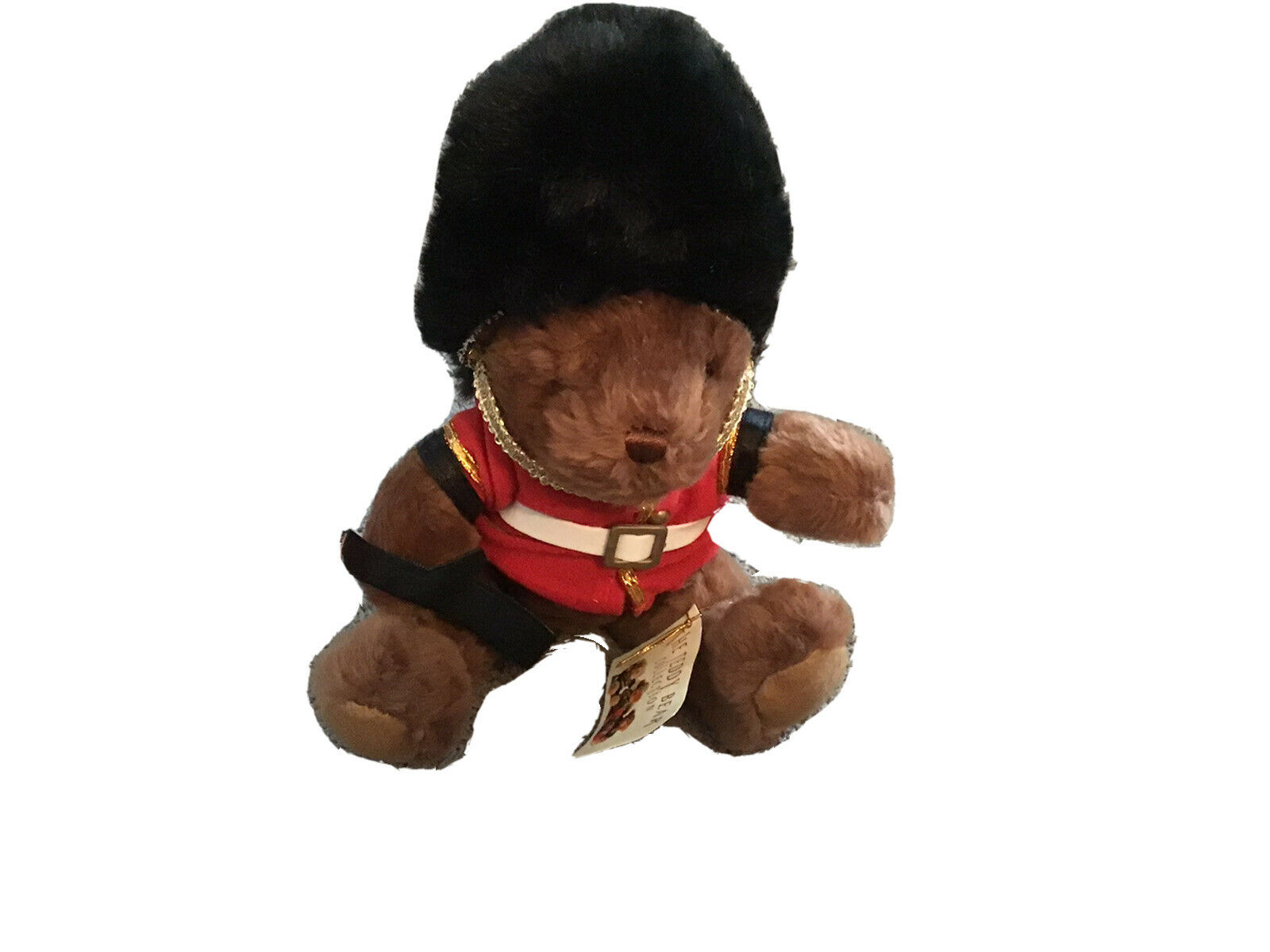 """10"""" The Teddy Bear Collection Guy The Guardsman"""