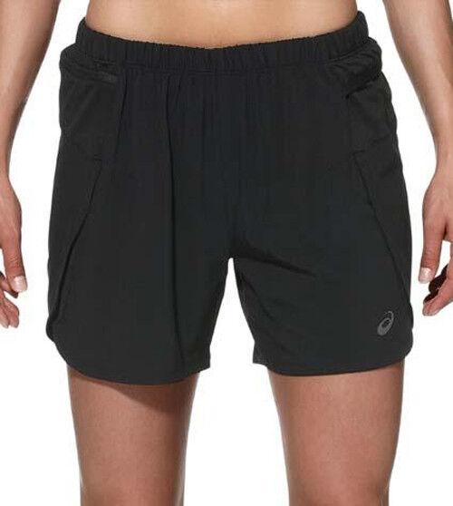 ASICS Fujitrail Womens Ladies 2 in 1 Trail Running Gym Inner Tight Shorts  Sizes XS (8)  cdcef4344b
