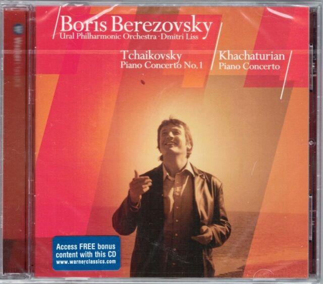Boris BEREZOVSKY: TCHAKOVSKY Piano Concerto No.1 KHACHATURIAN Klavierkonzert CD