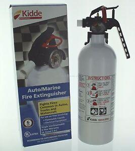 Kidde Mariner 5 Fire Extinguisher with Pressure Gauge and ...