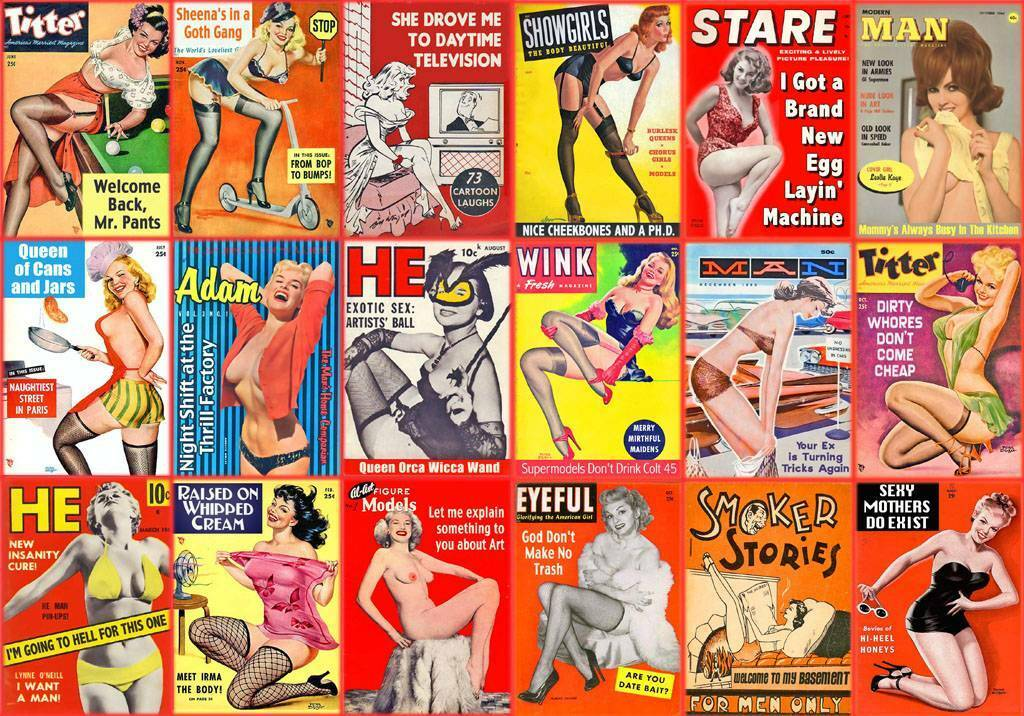 Porno magazine