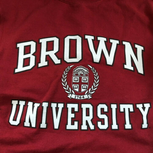 BROWN UNIVERSITY Champion Sweatshirt Size Small S