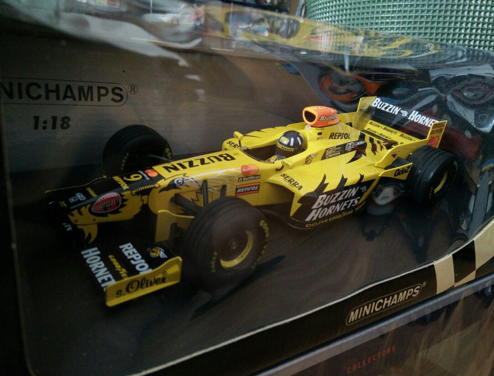 Damon Hill Jordan Mugen Honda 198 Minichamps  1 18