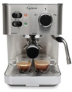 Capresso EC PRO Pump Espresso And Cappuccino Machine