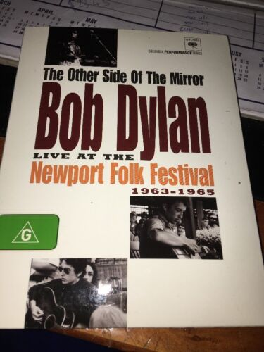 1 of 1 - Bob Dylan - The Other Side Of The Mirror (DVD, 2007) VGC