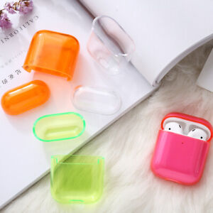 Candy-Color-Shockproof-for-Apple-AirPods-Cover-Transparent-Hard-PC-Case