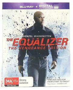The Equalizer 2014 Bluray Denzel Washington Free Post Tracking Inc Ebay
