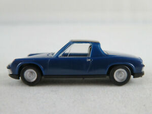 Herpa-Magic-Porsche-914-1969-1972-en-enzianblau-negro-1-87-h0-nuevo-sin-usar