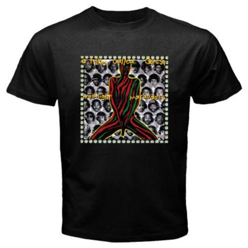 A Tribe Called Quest Midnight Marauders Hip Hop Men/'s Black T-Shirt Size S-3XL