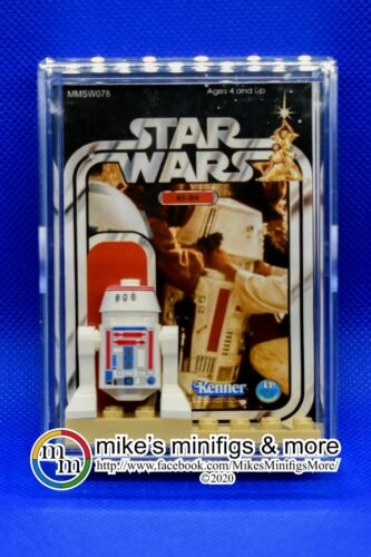 Star Wars R5-D4 Custom Carded Mini-figure Minifigure ANH Tatooine Sandcrawler