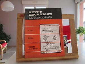 REVUE-TECHNIQUE-AUTOMOBILE-N-263-MARS-1968-BE-TBE-PEUGEOT-404