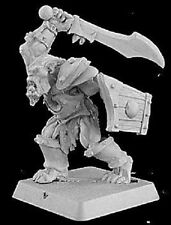 Kak'urgh Reven Captain Reaper Miniatures Warlord Orc Barbarian Fighter Melee