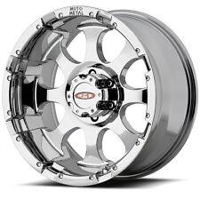 17 Inch Chrome Wheels Rims Hummer H2 H2T SUT 8x6.5 Lug Moto Metal MO955 Set of 4
